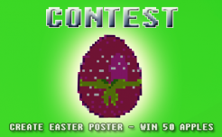 planet of cubes, contest, easter, eggs, happy easter, 2018