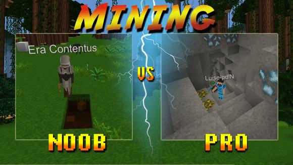 planet of cubes, noob, pro, survival, craft, mine